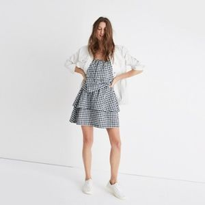 Madewell Skirts - Madewell gingham tier mini skirt